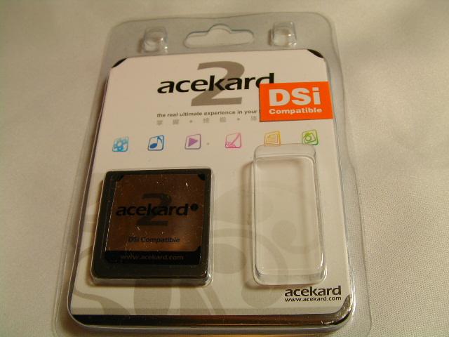 Acekard2iパッケージ
