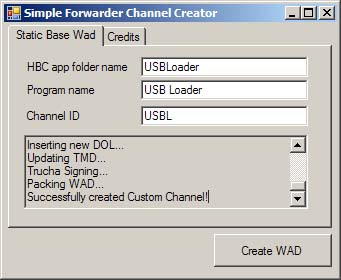Simple Forwarder Channel Creator