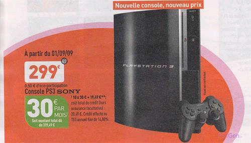 PS3 Slim 299Euro