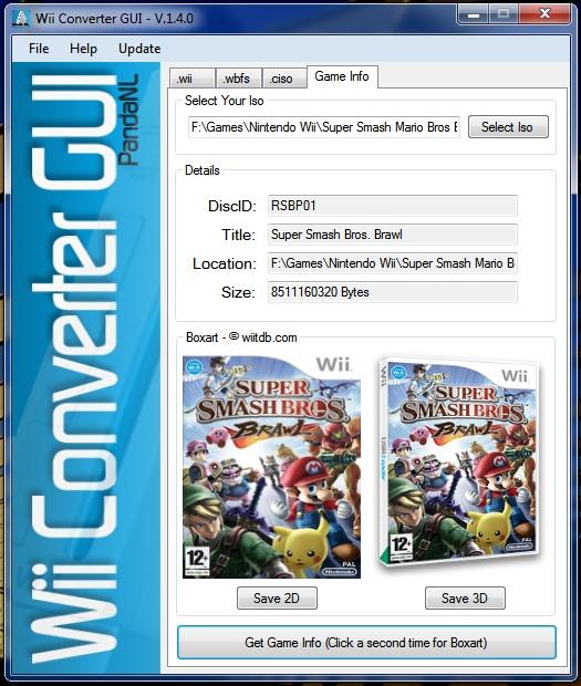 Wii Converter GUI