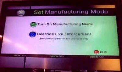 Xbox 360 manufact-exploit
