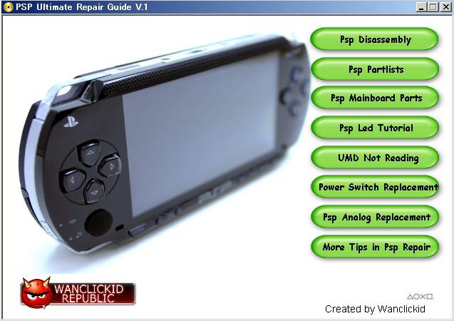 PSP ultimate repair guide