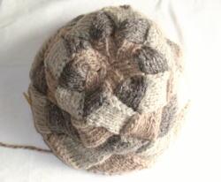 Let's challenge 《白樺編みの帽子》 - 木漏れ日のもとで