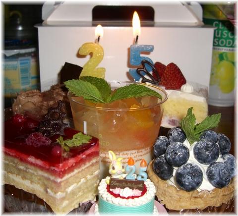 プランタン 「25」ケーキ