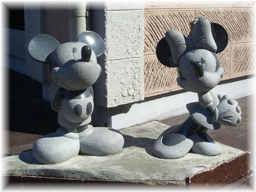 石像ミキミニ