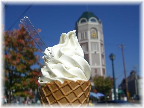小樽 ソフトクリーム