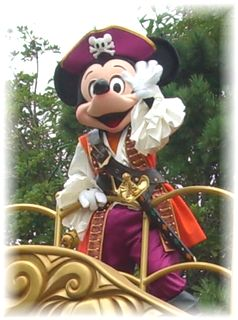 海賊ミッキー