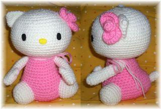編みぐるみ キティ