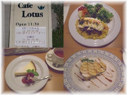 カフェ Lotus