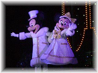 2006クリスマス ミッキー&ミニー