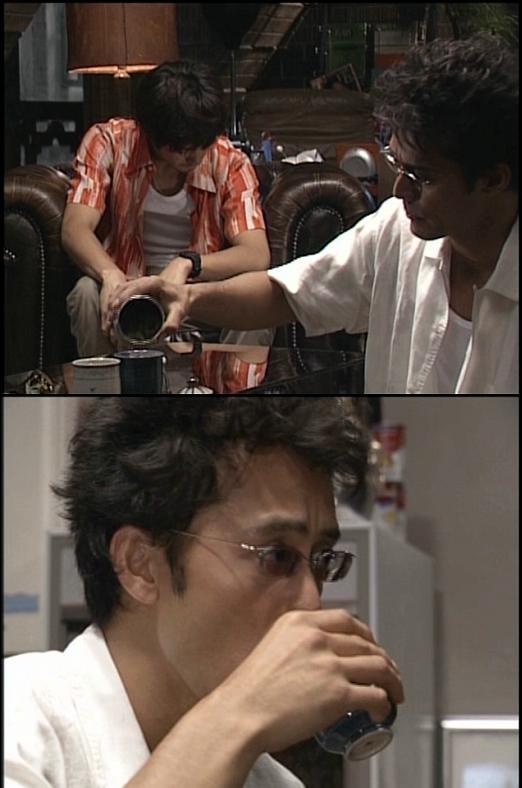 阿部寛は日本茶が好き?   ロマ...