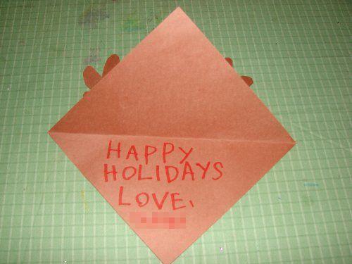 easy reindeer christmas card craft for preschool preschool education