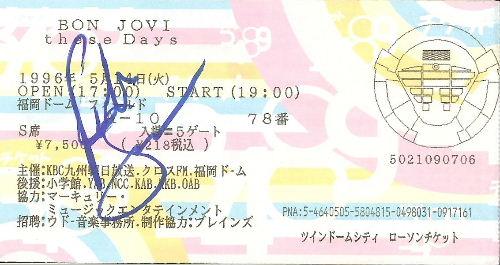 Richie Sambora's Autograph