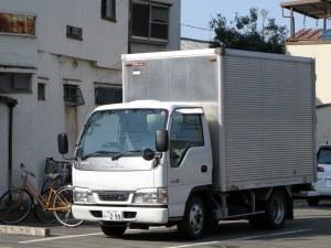 isuzu エルフ 2トン標準アルミ
