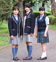 聖セシリア女子高等学校制服画像