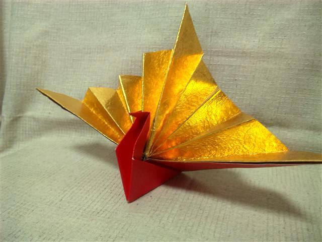 簡単 折り紙 折り紙 ツル : divulgando.net