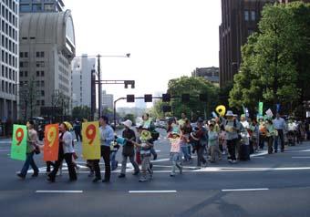 憲法記念日パレード
