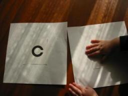 視覚検査用紙