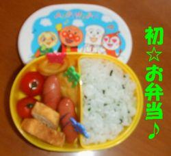 初☆お弁当♪