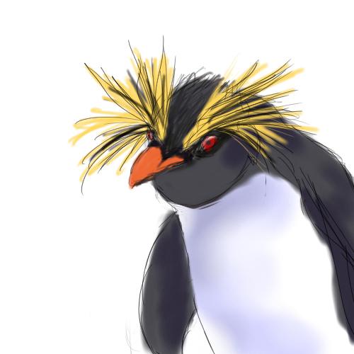 ペンギンに。。。