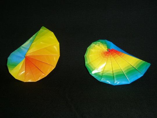 折り方 a4用紙 箱 折り方 : 巻貝。いくつか折り方があるの ...