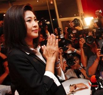 タイ王国インラック首相YouTube動画>1本 ->画像>82枚