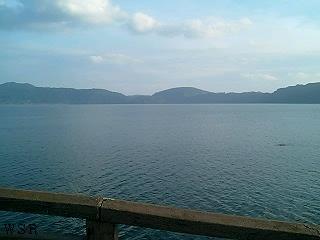 池田湖風景