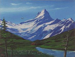 山岳風景 25