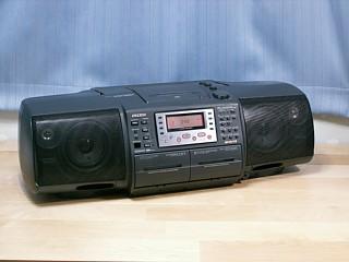 AIWA CSD-SR8 【機器修理】AIWA CSD-SR8 CDラジカセ | 音響機器修理「
