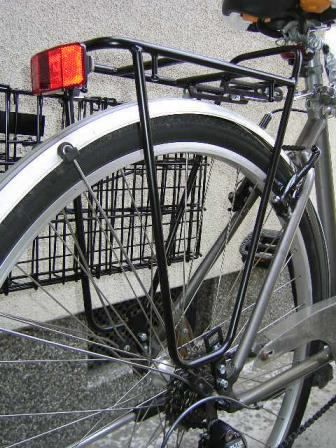 自転車の 反射板 自転車 取り付け : 自転車のリアキャリアを交換 ...