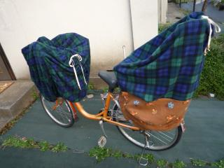 自転車防寒カバー   のんびり ...