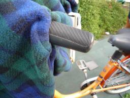 自転車防寒カバー | のんびり ...