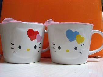キティのマグカップ