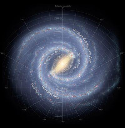 銀河系の姿 | ウェル指圧マッサ...
