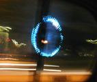 車窓から撮った観覧車(ブレてます…)