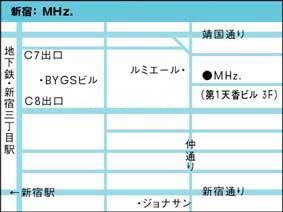 Mhzさんの地図!