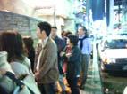 店の前にはすごい行列が…