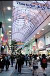 仙台のアーケード街