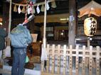 近所の「氷川神社」に行きました!