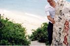 沖縄の海岸にて♪