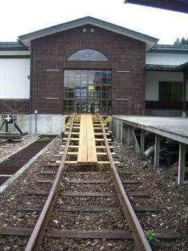 自転車の 神岡 自転車 線路 : 温泉口駅の今。自転車で線路 ...