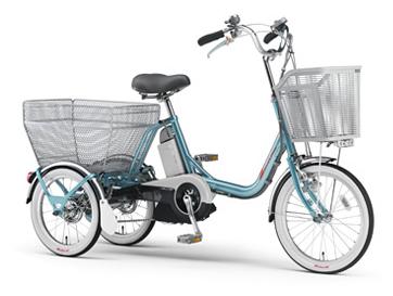 自転車の 電動3輪自転車 前2輪 : の3輪電動アシスト自転車 ...