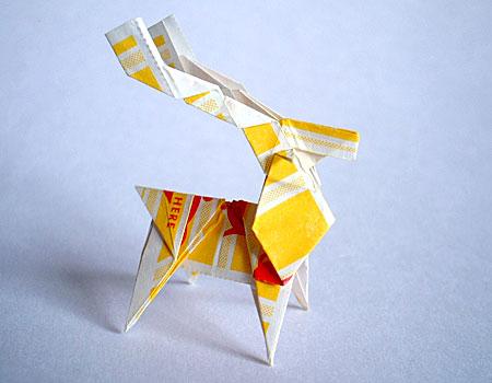 ハート 折り紙:折り紙トナカイ折り方簡単-plaza.rakuten.co.jp