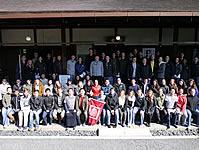 海外からの学生達が坐禅体験(妙心寺山内 退蔵院)