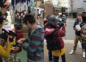 京都ハンディクラフトセンターPR動画撮影
