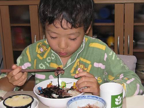 夕食    20071125