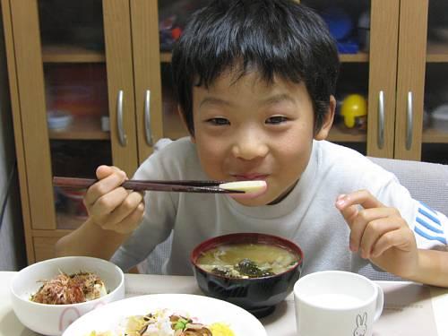 夕食    20071127
