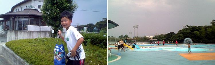 香良洲町のプール  20070726