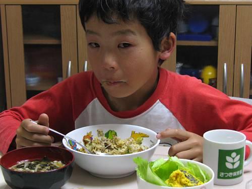 涙の夕食      20071126