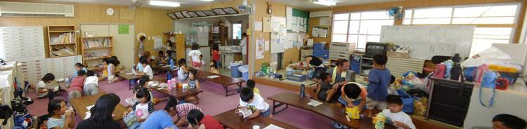 学童の手伝い  20060727